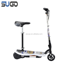 cheap price kids battery scooter with seat kick ce electric scooter