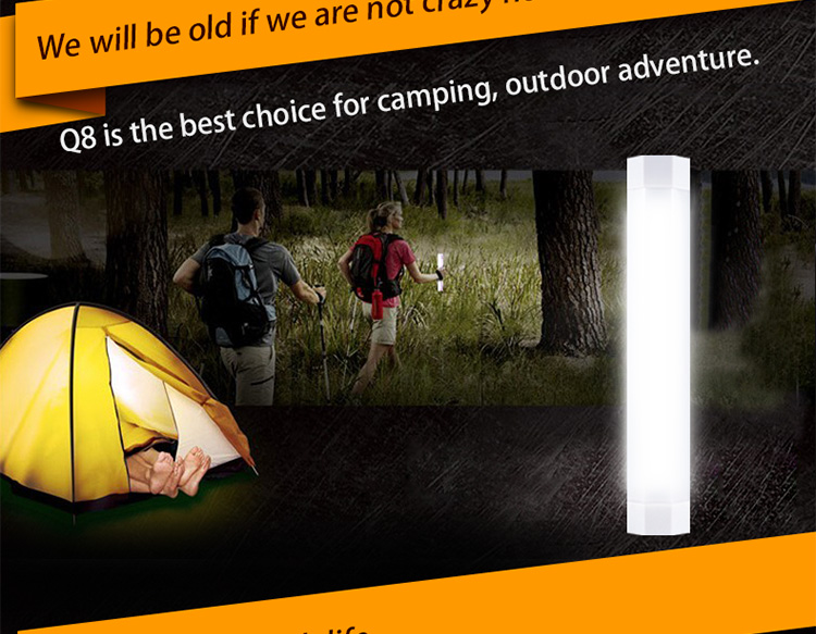 UYLED Q8 camping equipment best led flashlight led camping lights