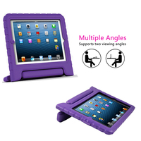 Wholesale price child proof protective for iPad carrying case with shoulder strap