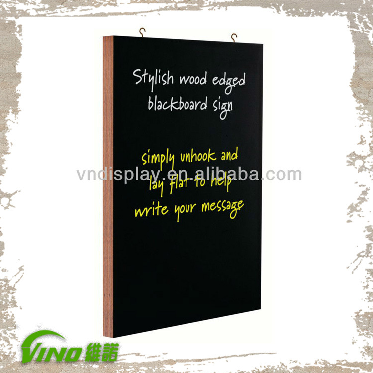 wood signs ,MDF Slate sign chalk board , wall mounted blackboard , blackboards for restaurants