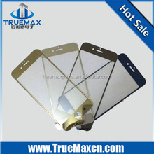New Arrival Top Sales color tempered glass screen protector for iphone 6 plus