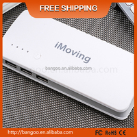 Free shipping!! 20000mah fast charging power banks led torch power bank with logo printing free