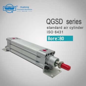QGSD 80 series pneumatic standard air cylinder