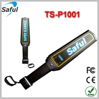 Saful Wholesale handheld security metal detector Sound mode portable security scanner TS--P1001 metal detector md3010