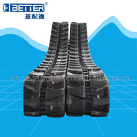 Rubber track 300x109x36 for excavator farm machinery