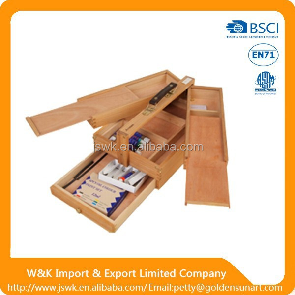China supplier high quality wooden blackboard easel