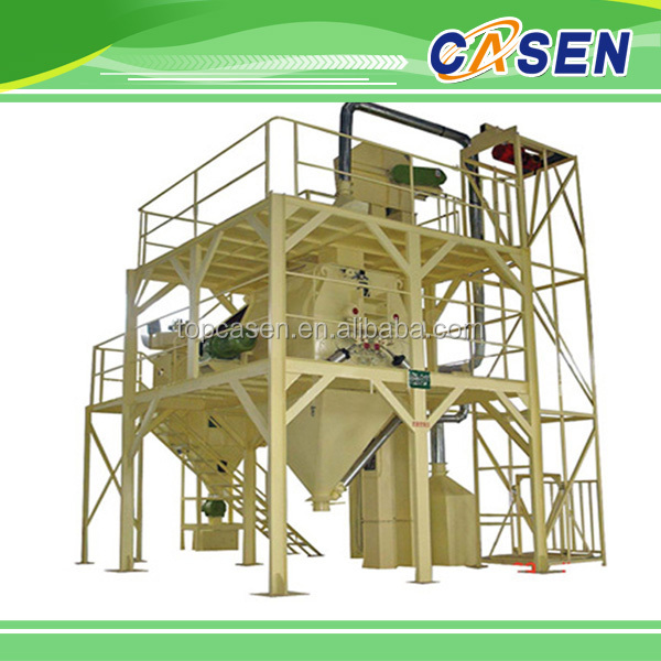 animal feed production line/grass chopper machine for animals feed/animal feed cutting machine