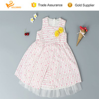 new fashion baby girl party wear western dress