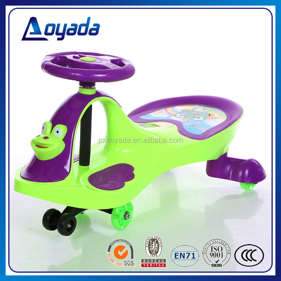 Good quality and popular swing car/ baby beep beep toy car for kids /kids buggy car
