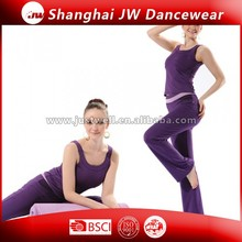 ladies OEM yoga wear suti/ladies fitness wear/long loose yoga suits