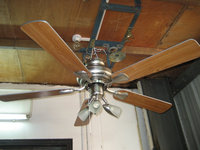 48 inch electrical decorative ceiling fan with light