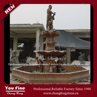 Hand Carved Customized Marble Garden Fountain
