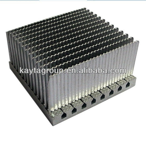 heatsink pin fin stamping hardware parts plastic auto accessories high quality Anodized Aluminum Extrusion Profile