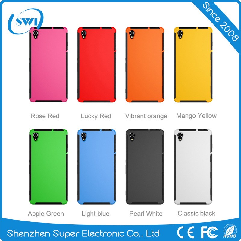 China Suppliers 3 Defenders Cell Phones Case for Sony Z3,360 Degree protective Cell Phone Hybrid Cases for Sony Z3