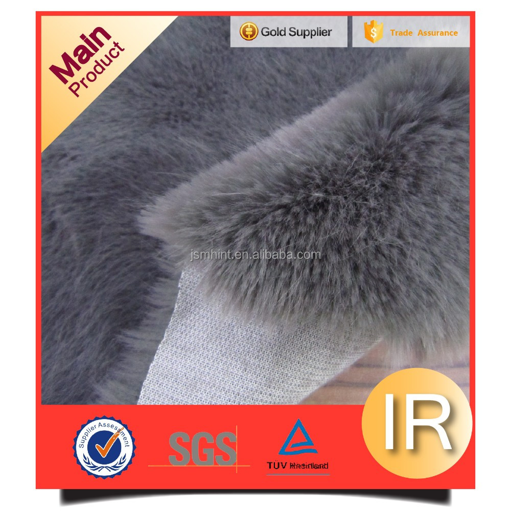 super soft fake rabbit fur fabric