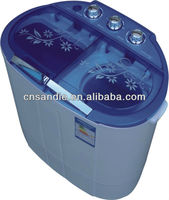 3.0kg single tub semi automatic miniums washing machine with centrifuge