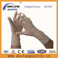 High Quality powder free latex surgical gloves