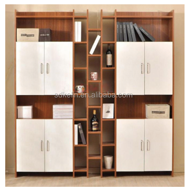Best quality bookshelf wooden CD rack for livingroom furniture