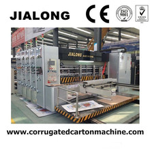 2017 latest model corrugated flexo printing slotting rotary die cutting machine/carton box printer slotter rotary die cutter