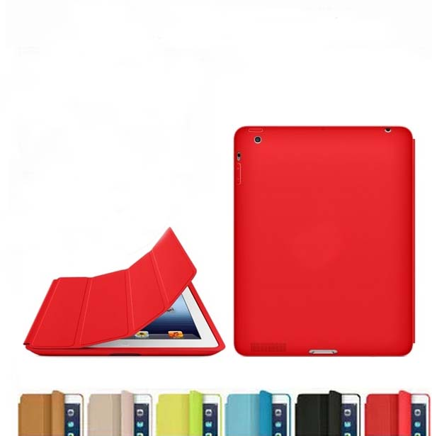 Slim Pu Leather Magnetic Smart Case For iPad 2 3 4