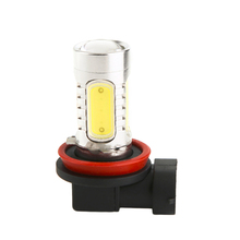 Car Angel Eye LED Fog Light Lens 12V Red White Blue Yellow FOG light 6W