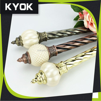 KYOK China made high quality in Africa Metal Curtain Rod wholesale