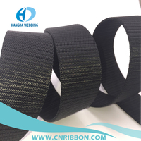 customized thick black nylon webbing strap for military belt