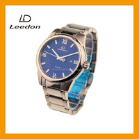 Factory directly selling steel customized luxury watches men