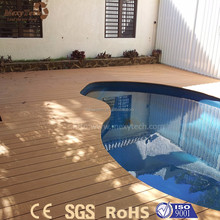 new tech eco-friendly outdoor flooring wood plastic composite decking