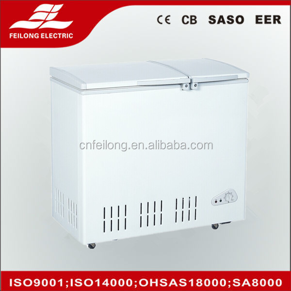 BD/BD-232C deep freezer refrigerator with wheels