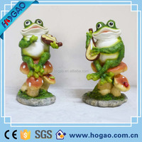 wholesale garden craft resin gnome frog yoga