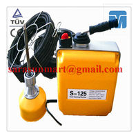 S125 Sewer Pipeline Drain Cleaning Machine/Manual Pipe Cleaner