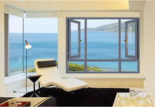 white thermal break aluminium frames for windows and doors
