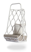 swing rattan egg chair