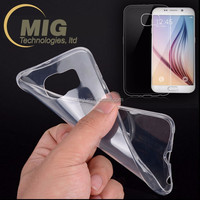 For Samsung case 0.3 mm ultra thin clear transparent TPU Mobile phone cover case for Samsung galaxy Note 7 0.3 mm tpu case