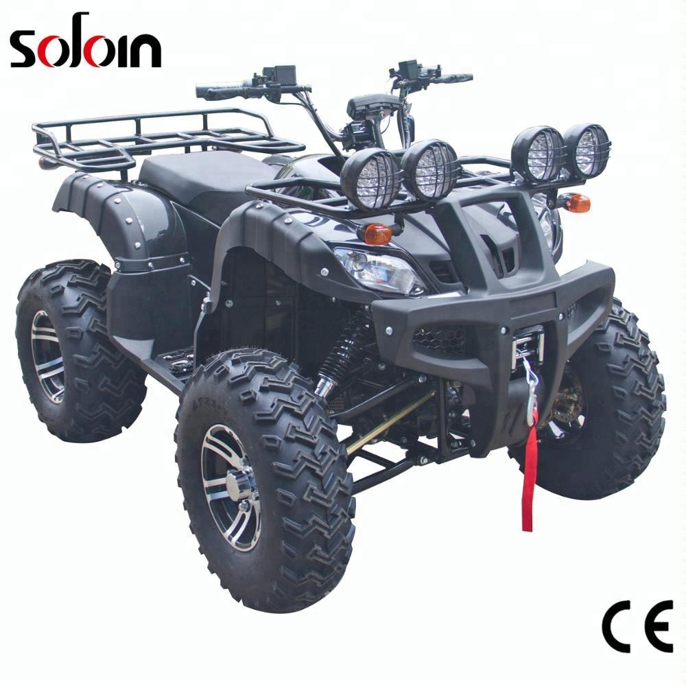 4WD Shaft driving 2000W*2 big power adults 4x4 electric ATV