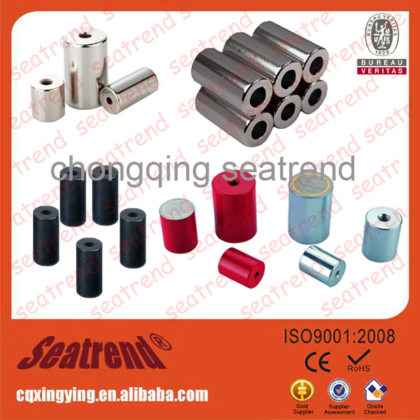 Cylinder Ndfeb Rare Earth Strong Neodymium Permanent Strong Industrial Magnets Sale