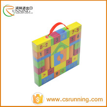 Promotional toys eva foam building blocks kids bricks intellect blocks toys