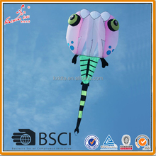 8 SQM tadpole pilot kite made of ripstop nylon fabric