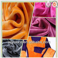 polyester underwear fabric for Thermal underwear
