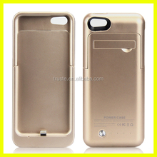 Li-polymer external battery case for iphone 5s , for iphone 5 battery case power bank charger