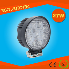27W Led Work Light 12V 27W High Lumens For Trucks, 4X4, Suv, Special Vehicles