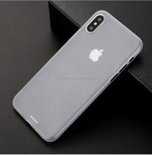 Cheap price ultra slim matt pp hard cellphone cover for IPhone 8,cover for IPhone X