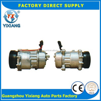Auto Refrigeration Parts 1J0820803F 119MM 6PK Pulley Clutch SD7V16 Air Conditioning Compressor For VW Golf