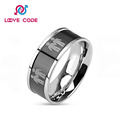 You Love Who You Love Stainless Steel Two Gay Boy Ring
