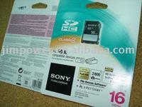 SONY SDHC SD 16GB CLASS 4 Memory Card