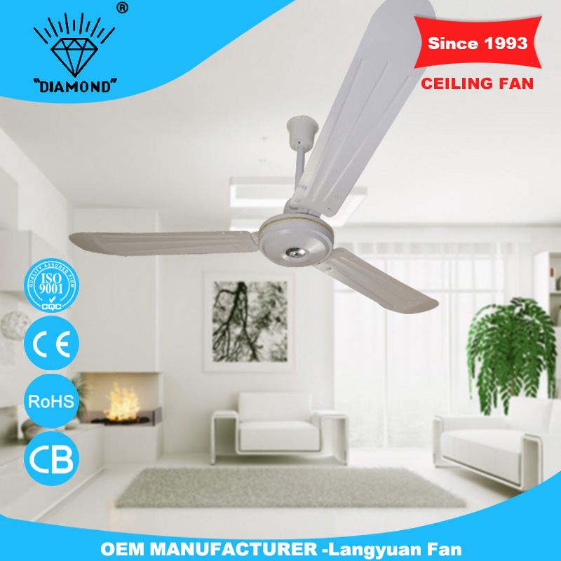 220V 56'' white false ceiling fan with low price
