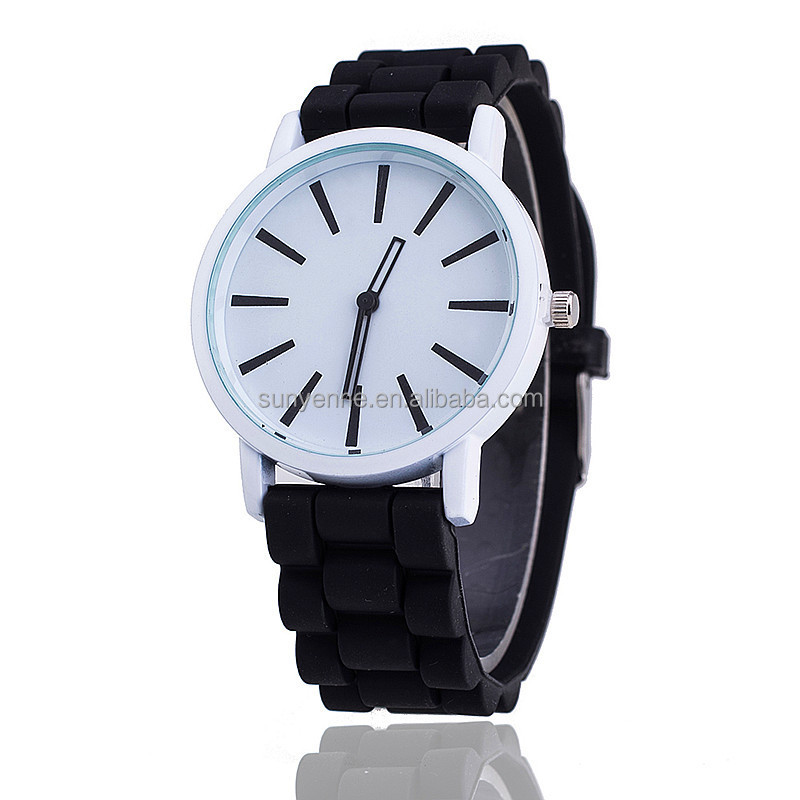 OEM Silicone band Watch Jelly Quartz watches Wrist Watches