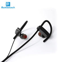 Rechargeable bluetooth headset with mic RU10, long distance bluetooth headphone for running workout