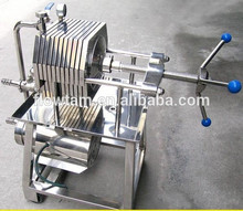 Good quality food grade stainless steel plate filter press